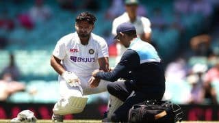 Pant Taken For Scans, Saha in as Concussion Substitute