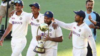 Ind vs aus wicketkeeper batsman rishabh pant recalls how he forced navdeep saini for running despite winning during winning moment at gabba test 4356603
