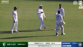 India vs australia 4th test rohit sharma ajinkya rahane laugh at rishabh pants useless appeal on tim paine viral video 4334742
