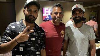 Rohit Sharma, Ajinkya Rahane Arrive in Chennai For India vs England 1st Test