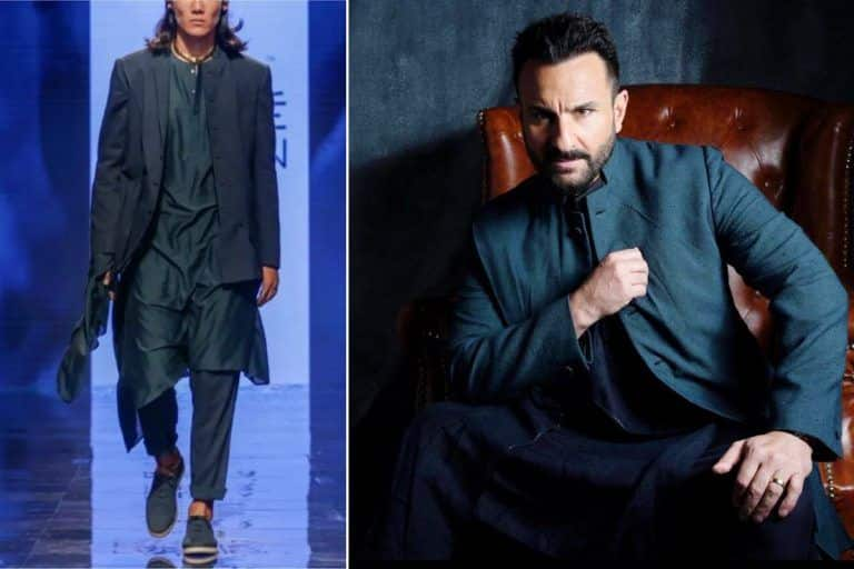 Tandav Actor Saif Ali Khan Looks Dapper in Rs 39K Bandhgala Jacket For a Photoshoot - Yay or Nay?