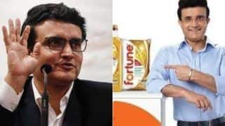 After sourav ganguly cardiac arrest fortune cooking oil ads removed by adani wilmar ltd from all platform 4310538