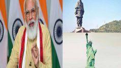 'Statue of Unity' पर 'Statue of Liberty' से अधिक पर्यटक आते हैं, दो साल में 50 लाख से अधिक लोग पहुंचे: मोदी