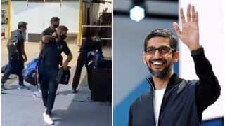 India vs England 2021: Google CEO Sundar Pichai Welcomes Joe Root And Co to Chennai Ahead of 1st Test