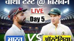 LIVE CRICKET SCORE, INDIA vs AUSTRALIA, DAY-5: ऑस्ट्रेलिया को मिली पहली सफलता, रोहित शर्मा सस्ते में आउट