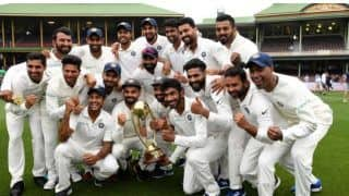 Ind vs aus on this day in 2019 team india beat australia for the first time in test series down under 4313679