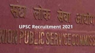UPSC Recruitment 2021: Apply For 89 Posts at upsconline.nic.in Before March 18 | Check Details