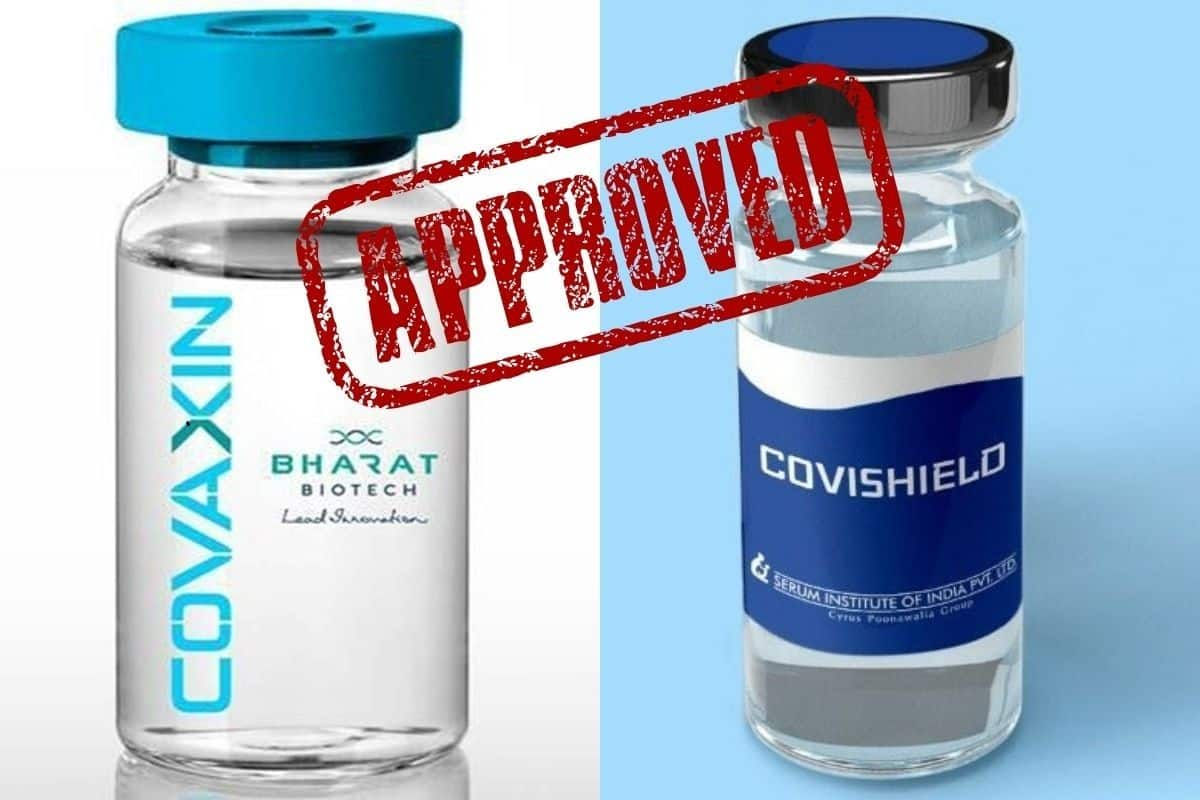 India Gets 2 Vaccines Against Coronavirus as Covaxin, Covishield Get Final  Nod by DCGI