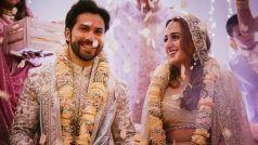 Varun Weds Natasha: शादी के बंधन में बंधे Varun Dhavan और Natasha Dalal, देखिए पहली तस्वीरें