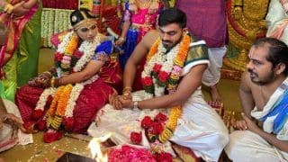 Vijay Shankar Marries Vaishali Visweswaran, SRH Wish India All-Rounder