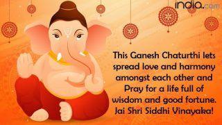 Vinayak Chaturthi 2021: History And Significance of Ganesh Chaturthi