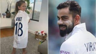 "Indian cricket team captain Virat Kohli has once again won millions of hearts by his sweet little gesture this time for the opposition camp. Kohli, who went on a paternity leave after playing the limited-overs leg and the first Test against Australia, had had gifted David Warner's daughter Indi Rae one of his playing jerseys. Despite losing the recently-concluded Border-Gavaskar series, Australian opener Warner revealed that his daughter is happy because she received a jersey from her favourite player - Virat Kohli.  The 34-year-old Warner enjoys a huge fanbase in India courtesy his IPL stint with the franchise Sunrises Hyderabad. He is also one of the few cricketers who is really active on social media and used the lockdown period really well to interact with his followers. From uploading funny Tik Tok videos to making face swap videos, the Australian batsman has done almost everything. On Saturday, Warner shared a picture of his four-year old daughter Indi wearing Kohli's jersey. He captioned the picture: ""I know we lost the series but we have one very happy girl here!! Thanks Virat Kohli for your playing jersey, Indi absolutely loves it. Besides daddy and Aaron Finch, she loves VK.""  Earlier, Warner   s wife Candice had revealed that their middle child is a Kohli fan and likes to copy the style of Team India skipper over an Australian player whenever the Warners play backyard cricket at home.   Speaking to Triple M Sydney radio station, Candice had said, ""We do play a little bit of backyard cricket. The funny thing is my girls, sometimes they wanna be dad, sometimes they wanna be Finchy (Aaron Finch) but my middle child, she wants to be Virat Kohli. And I am not even joking, her favourite player is Virat Kohli. She is the rebel.""  In Kohli's absence, Ajinkya Rahane-led India bounced back after losing the first Test in Adelaide to beat Australia 2-1 in the four-match Test series. Courtesy the win, India retained the Border-Gavaskar Trophy. Warner missed the first two Tests due to a groin injury, while Kohli returned home after the first Test for the birth of his first child."