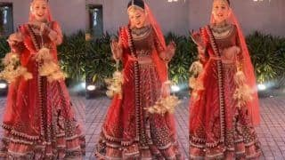Yuzvendra Chahal's Wife Dhanashree Verma Dances to 'Are Re Are Ye Kya Hua' as She Enters Her Wedding - Watch