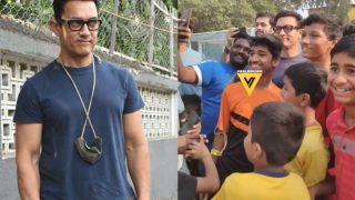 Aamir Khan Trolled For Not Wearing Mask, Fans Say 'Lagta Hai Vaccine Le Li Hai'