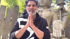 Akshay Kumar Urges All to Contribute to Ram Mandir-Construction - Watch Video