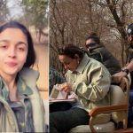 Alia Bhatt Enjoys Her Jeep Jungle Safari at Ranthambore National Park, Gives Glimpse in Selfie Video