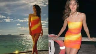 Ananya Panday Looks Glamorous in New Photos as She Welcomes New Year in The Maldives With Ishaan Khatter