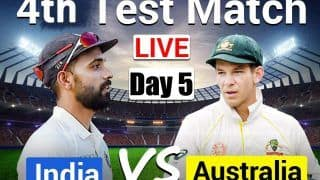 LIVE CRICKET SCORE Ind vs Aus 4th Test Day 5 Today's Match Live Updates Gabba, Brisbane: Rohit, Gill Eye Solid Start in 328 Chase