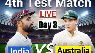 Live Cricket Score Ind vs Aus 4th Test Day 3 Today's Match Live Updates Gabba, Brisbane: Rahane-Pujara Eye Solid Start