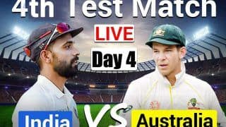 HIGHLIGHTS India vs Australia 4th Test Day 4 Gabba, Brisbane Today's Match Scorecard AS IT HAPPENED: Siraj, Shardul Keep IND in Hunt; AUS Set 328