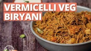 Vermicelli Veg Biryani Recipe: Here's How You Can Make This Delicious Biryani at Home