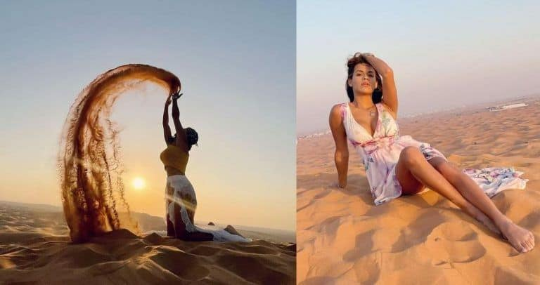 Brazilian Playboy Model Branded 'Obscene' for Posing Topless in Dubai Desert, Hits Back at Trolls