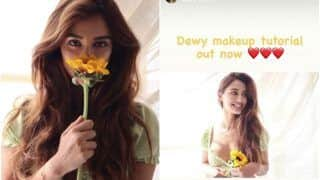 Disha Patani Nails the Dewy-Makeup Look in Her Latest Tutorial Video- WATCH