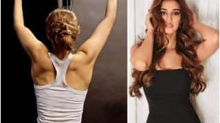 Disha Patani Redefines Fitness Goals By Doing Lat Pulldown Workout  WATCH