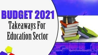 Budget 2021: Five Big Takeaways For Education Sector From Nirmala Sitharaman's First Paperless Budget