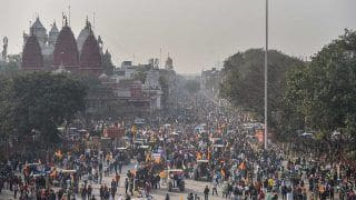 Farmers' Protest in Delhi Turns Violent as Protesters Clash With Police | 10 Points
