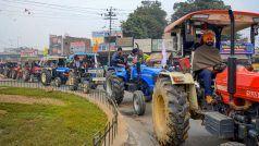Tractor Parade 26 January: 'ट्रैक्टर परेड' के लिए किसानों की तैयारी पूरी, पंजाब, हरियाणा से ट्रैक्टरों के जत्थे दिल्ली रवाना हुए