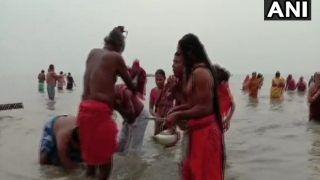Ganga Sagar Mela 2021: मकर संक्रांति पर पवित्र स्नान के साथ गंगासागर मेला शुरू