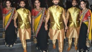 Gauahar Khan Trolled Again For Her Choice of Saree at Wedding, Fans Ask 'Why so Old Fashioned?'