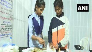 Telangana Govt School Students Make 'Zero Waste' Sanitary Napkins, Call It 'Stree Raksha Pads'