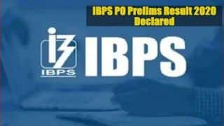 IBPS PO Prelims Result 2020 Declared | Find Direct Link & Step-by-step Guide to Check Scores Here