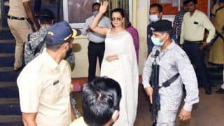 Kangana Ranaut Visits Bandra Police Station With Sister Rangoli Chandel in Sedition Case