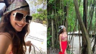 Kiara Advani in Red Bikini Sets Internet Ablaze, Shares First Picture of Year Straight From Maldives