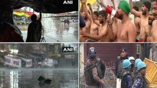 Farmers Protest: ठंड और बारिश के बीच 41 वें दिन अब भी दिल्ली के बॉर्डर पर डटे किसान, आंदोलनकारी खुले बदन प्रदर्शन करते आए नजर
