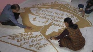 Surat Family Makes 5-ft-Long Kite Using Wheat Grains on Uttarayan