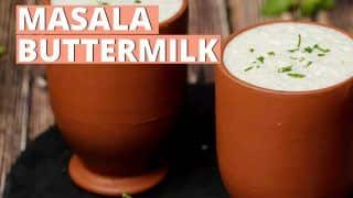 Try This Soul Soothing and Refreshing Masala Chaas Recipe at Home| WATCH