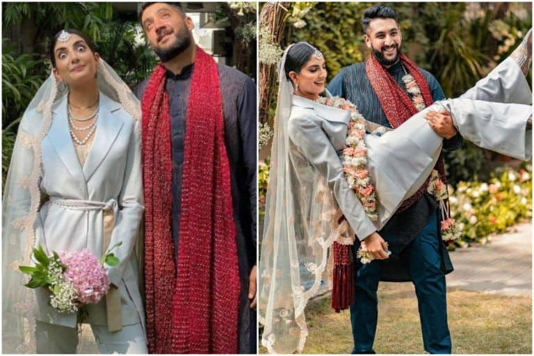 The Bride Who Ditched The Lehenga & Wore a Pantsuit to Her Wedding Shares Her Story | See Pics