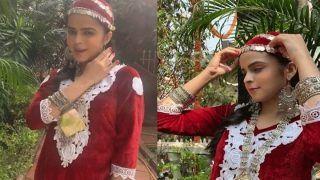 Taarak Mehta ka Ooltah Chashmah: सोनू का किरदार निभाने वाली पलक का कश्मीरी लुक वायरल, फैंस ने जमकर लुटाया प्यार
