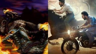 Is Rajamouli's RRR Poster Inspired From Ghost Rider?