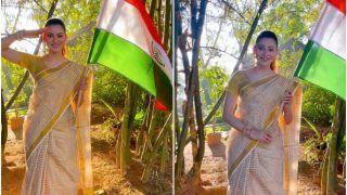 Urvashi Rautela Looks Breathtaking in a Kanchipuram Saree, Wishes Everyone a Happy Republic Day