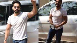 Varun Dhawan Thanks Paparazzi, Reaches Alibaug After His Bachelor Party in Mumbai - Watch Video