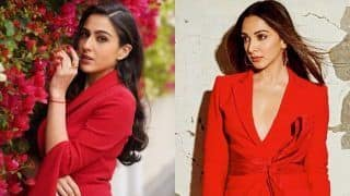 Kiara Advani vs Sara Ali Khan - Who Rocked The Red Power Suit Better?