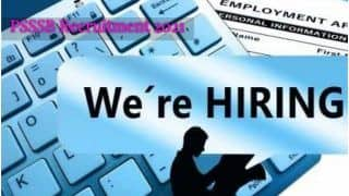 PSSSB Clerk Recruitment 2021: Apply Online For Job Vacancies in Punjab; Details Here