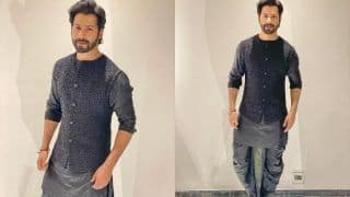 Varun Dhawan Looks Stylish in a Black Kurta, Dhoti And Rs 4k Kohlapuris, See Pics