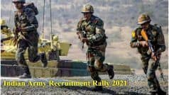 Indian Army Recruitment Rally 2021: Class X, XII Pass-Outs Can Apply Before February 24, Here's Direct Link