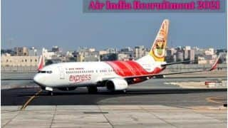 Air India Recruitment 2021: एयर इंडिया में इन विभिन्न पदों पर आवेदन करने की आज है आखिरी तारीख, जल्द करें अप्लाई